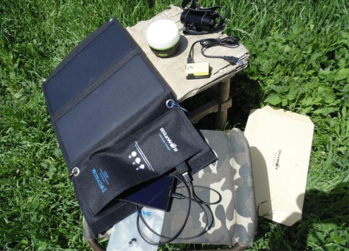 Солнечные батареи для зарядки смартфона