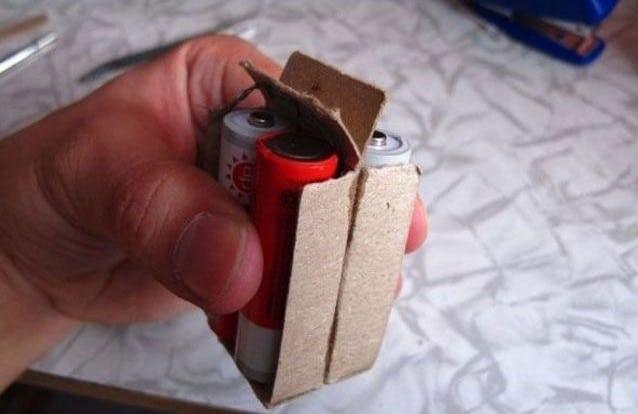 Аккумуляторы в коробках