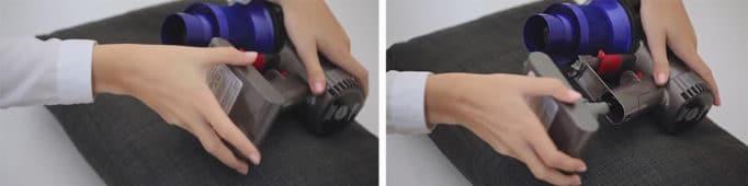 кассета аккумуляторов Dyson