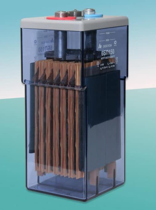 аккумулятор с электролитом