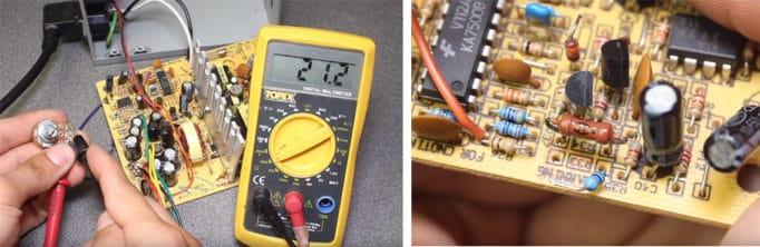 сопротивление переменного резистора