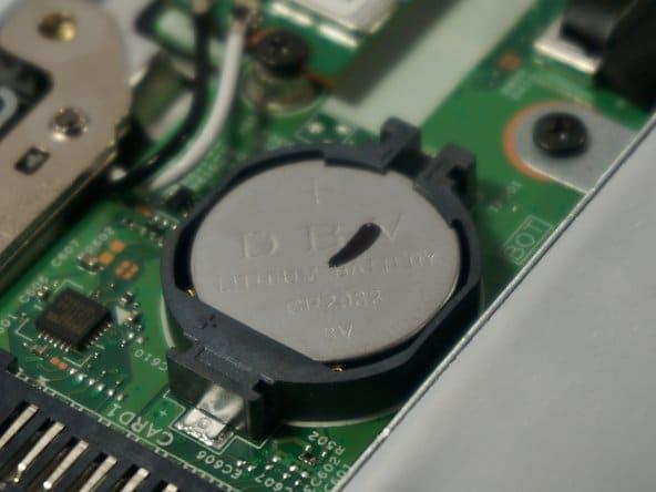 Батарейка в ноутбуке