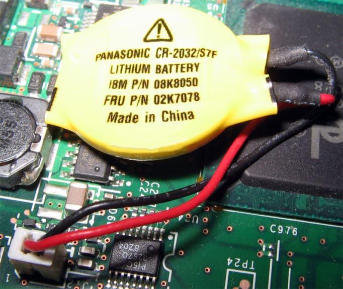 Батарейка СMOS (BIOS)