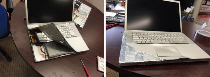 Разборка и сборка ноутбука