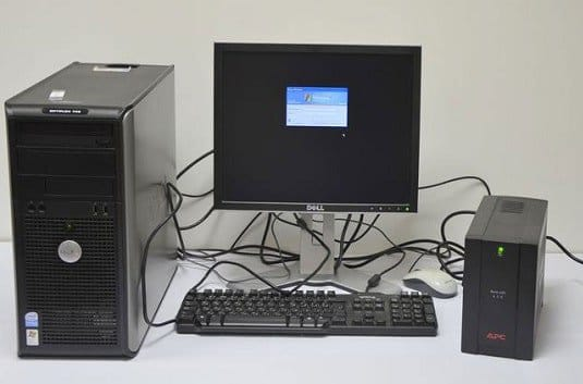 Компьютер через ИБП