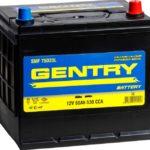 Gentry 75D23L CMF 60 Ah