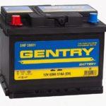 GENTRY 60L 510 А прям. пол. 60 Ач (SMF 56031)