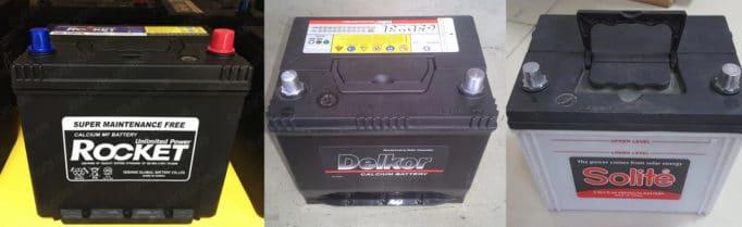 Rocket MF 65D23L, Delkor 65D23L, Solite 75D23L