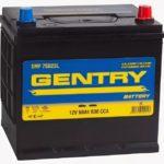 GENTRY 60R (75D23L) 530 А обр. пол. 60 Ач (SMF 75D23L)
