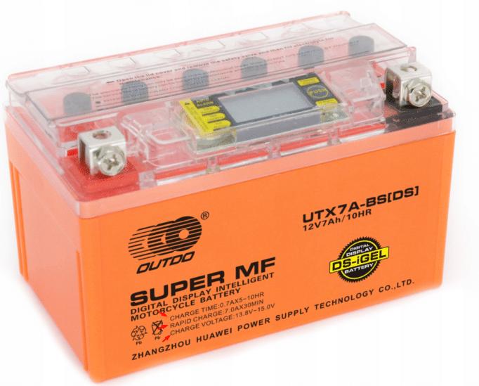 Характеристики тока на аккумуляторе