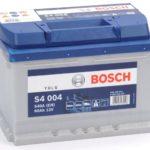 Bosch S4 004 Silver