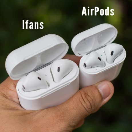 AFans I9S и AirPods