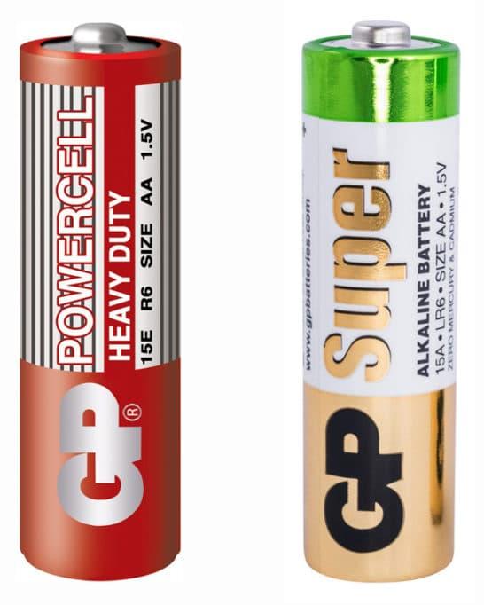 Батарейки R6 и LR6