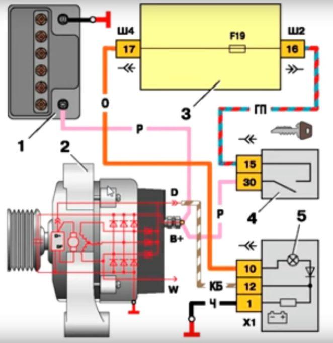 Схема Г-221А