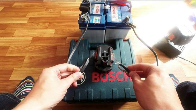 реанимация батареи шуруповёрта