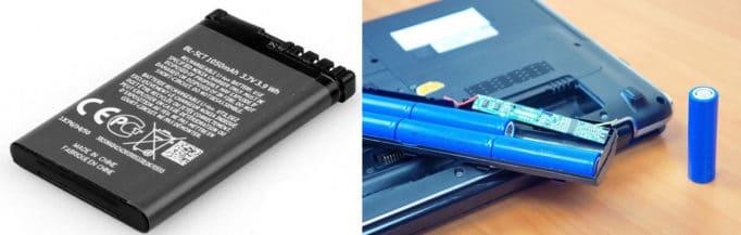 аккумулятор для телефона, аккумуляторная батарея для ноутбука