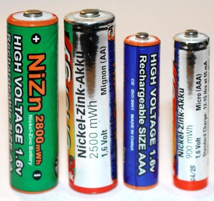 Никель-цинковые аккумуляторы