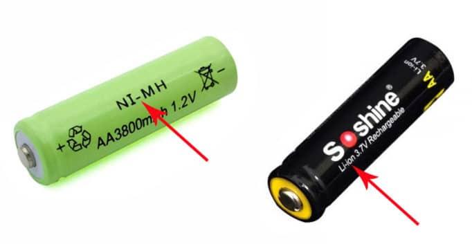 Тип аккумулятора