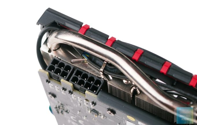 разъем PCI Express, 6 пин и 8 пин
