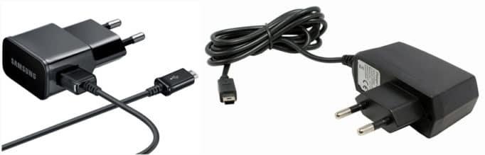 кабель USB-A/microUSB и с несъемный miniUSB