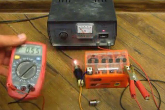 Как правильно и чем зарядить гелевый аккумулятор 12 вольт