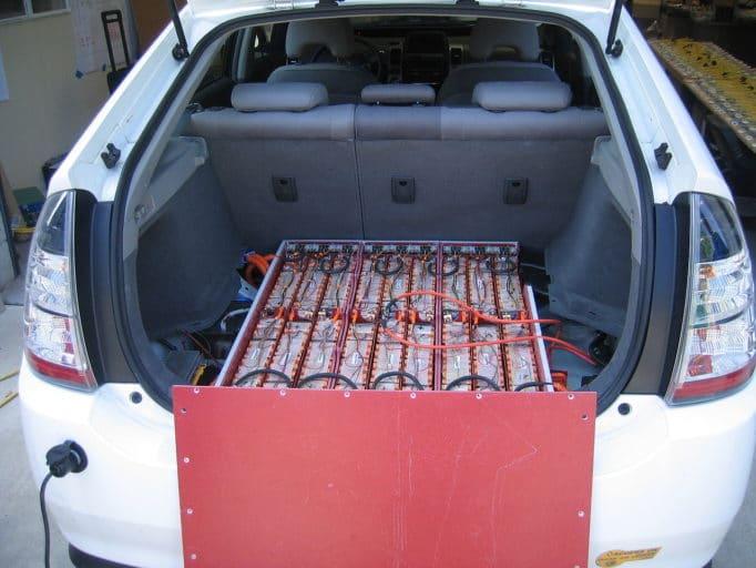 аккумуляторная батарея электромобиля