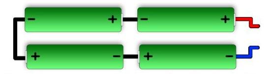 Батарея четырех элементов