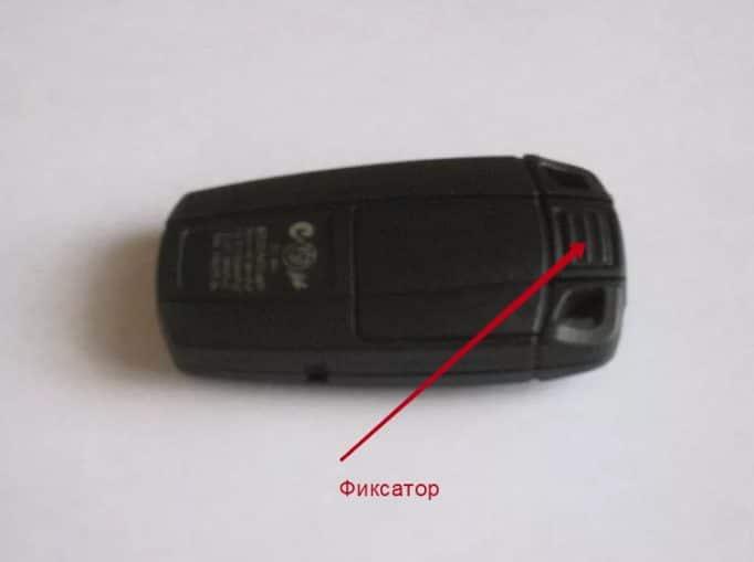 Как заменить батарейку в ключе BMW x5, x6