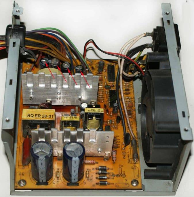 сглаживающие конденсаторы