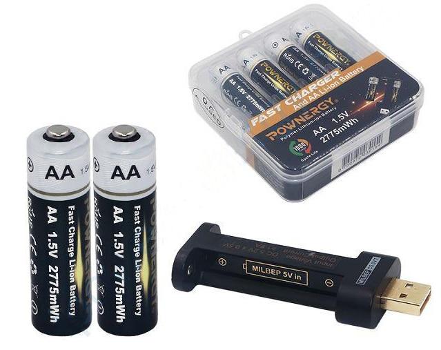 Как отличить аккумуляторные батарейки от обычных пальчиковых