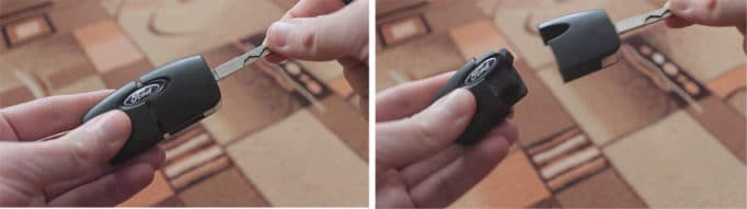Замена батарейки в ключе Форд Фокус 2