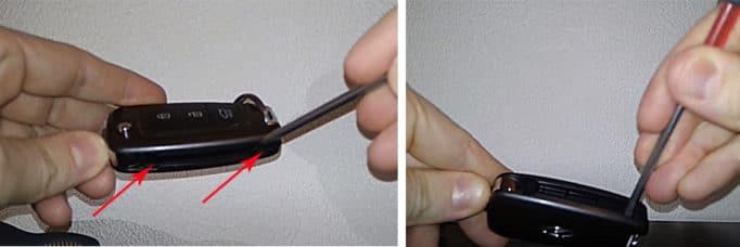 Как заменить батарейку в брелке хендай крета