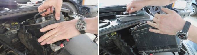 Как поменять АКБ на Форд Фокус 3