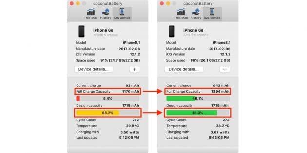 Как откалибровать аккумулятор на iPhone