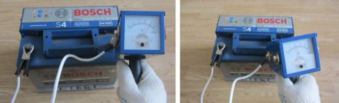 Как проверить аккумулятор нагрузочной вилкой