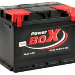 Power Box 60Ah EN 540A L+