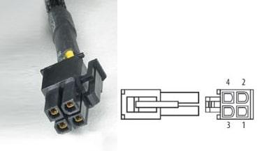 нумерация контактов вилки БП для процессора
