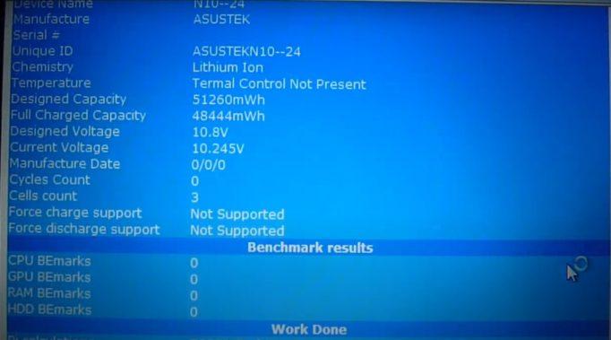 Программы для тестов и проверки батареи ноутбука на Windows 10