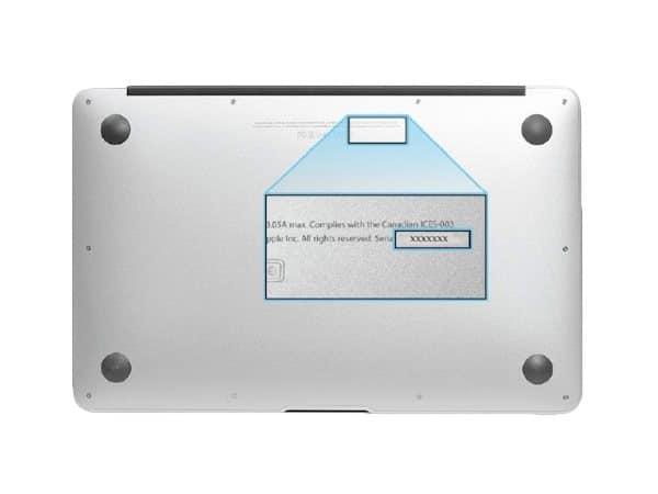 Как определитьномер детали аккумулятора ноутбука